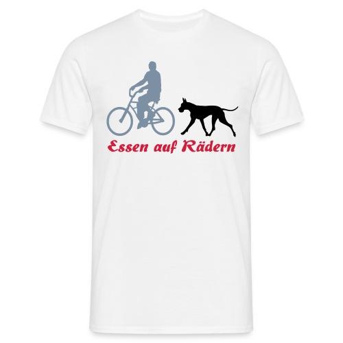 Essen auf Rädern - Männer T-Shirt