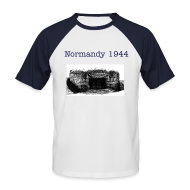 T-Shirts ~ Männer Baseball-T-Shirt ~ Shirt Normandy 1944!