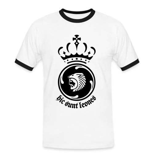 Hic Sunt Leones - Maglietta Contrast da uomo
