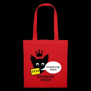 stofftasche, FFM, empoerungsstatist - Stoffbeutel