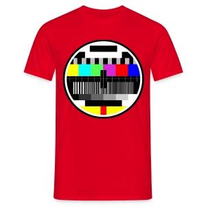 Monoscopio Test Pattern - Maglietta da uomo
