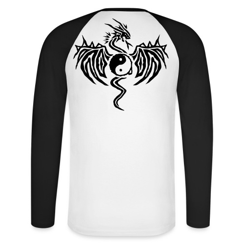 DragonFu - Men's Long Sleeve Baseball T-Shirt