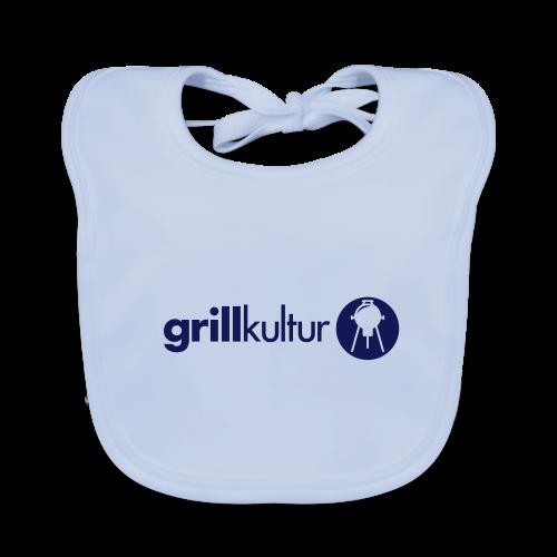 baby bio.lätzchen grillkultur v2 (1c) | baby-lätzchen mit motiv zum thema grillen mit grillmotiv gestalten - Baby Bio-Lätzchen