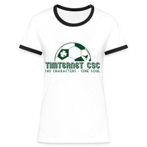 Timternet CSC - Women's Ringer T-Shirt
