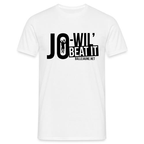Jo-Wil' Tsonga Beat it T-shirt (floc1c) - T-shirt Homme
