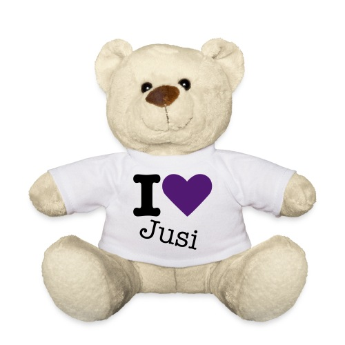 I love Justine - Teddy