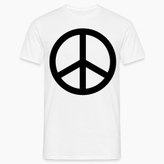 peace sign hippie T-Shirts