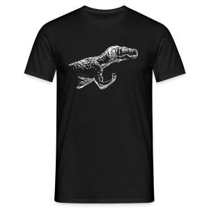 Tyrannosaurus-Flex - Men's T-Shirt