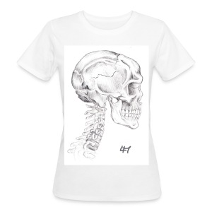 Skull and Bones - Frauen Bio-T-Shirt