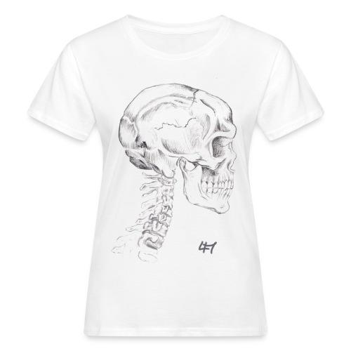 Skull and Bones - Frauen Bio-T-Shirt