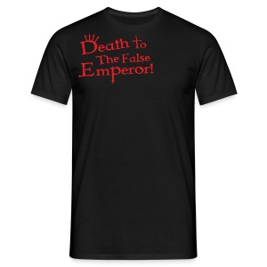 Death to the False Emperor! Warhammer 40K Inspired T Shirt - Men's T-Shirt