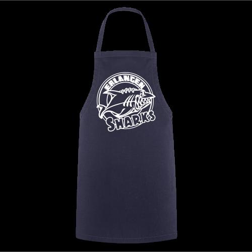 Kochschürze (navy/weiß) - Kochschürze