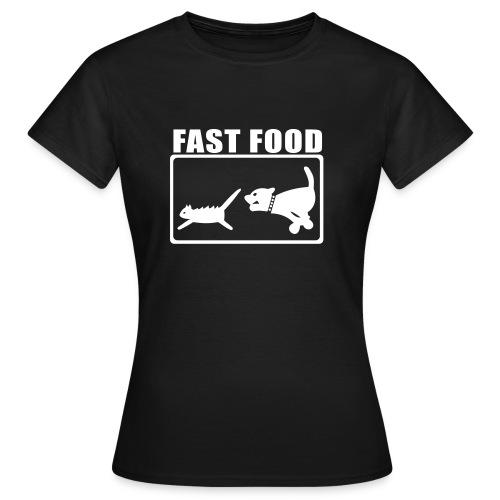 fast food - Frauen T-Shirt
