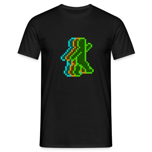 Neon Guy (Coloured) - Men's T-Shirt