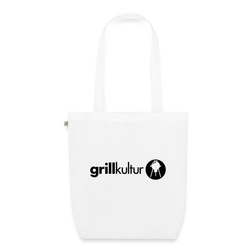 bio.stoffbeutel grillkultur v2 (1c) | biostoffbeutel mit motiv zum thema grillen mit grillmotiv gestalten - Bio-Stoffbeutel