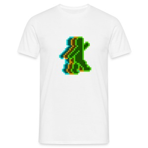 Neon Guy (White) - Men's T-Shirt