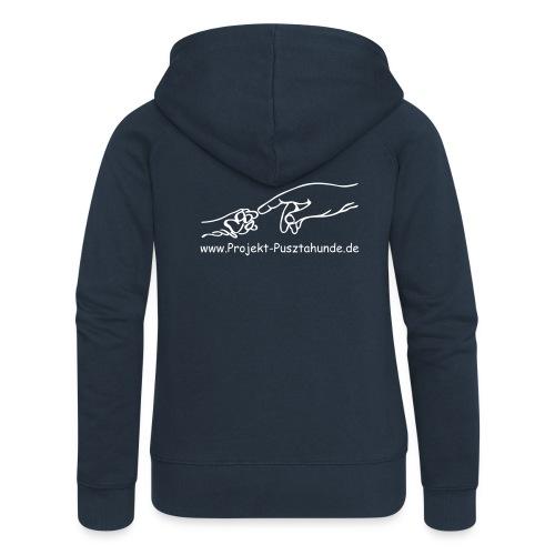 Frauen-Kapuzenjacke mit Logo - Frauen Premium Kapuzenjacke