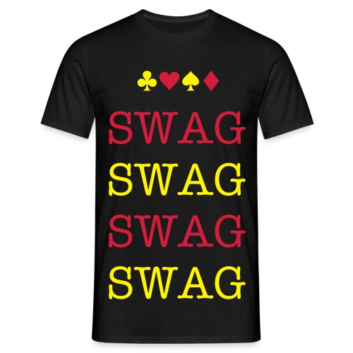 Red 'n yellow SWAG - Men's T-Shirt