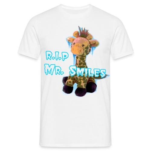 RIP Mr. Smiles - Male - Men's T-Shirt