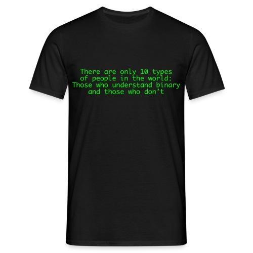 Binary... T-Shirt - Männer T-Shirt