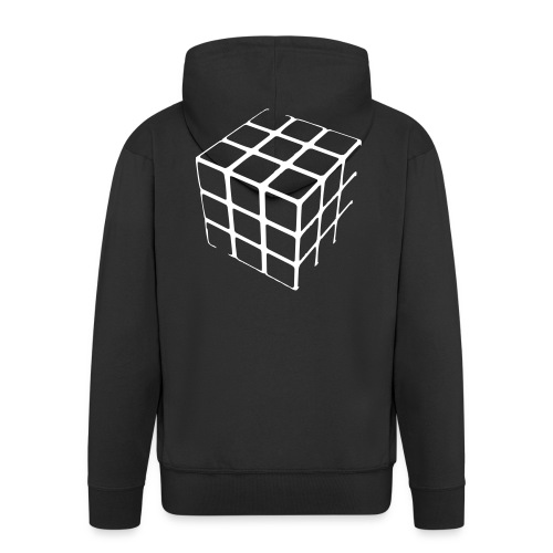 Bluza z Kapturem - Rozpinana bluza męska z kapturem Premium