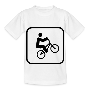 bmx sign Kids' Shirts