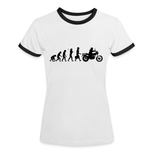 VanVolution Black Woman - Women's Ringer T-Shirt