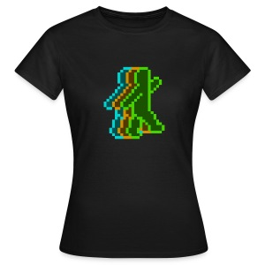 Neon Guy (Girlie) - Women's T-Shirt