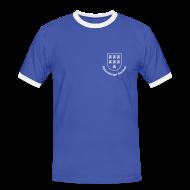 T-Shirts ~ Männer Kontrast-T-Shirt ~ Wappen der Siebenbürger Sachsen - Transylvania, Erdely, Ardeal, Transilvania