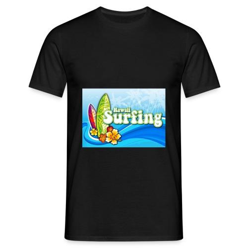 Hawaii Surfing - Männer T-Shirt - Männer T-Shirt