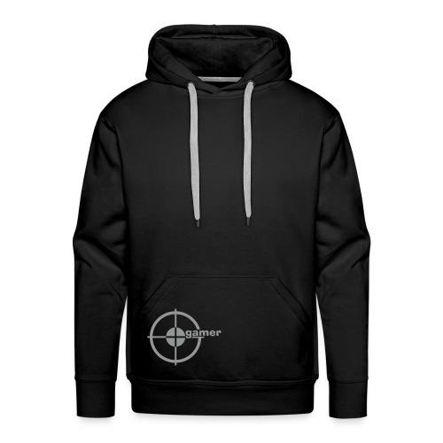 F2ND Black Cover op - Sweat-shirt à capuche Premium pour hommes