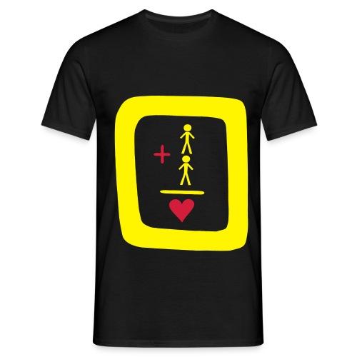 Homo, & stolz drauf - Männer T-Shirt