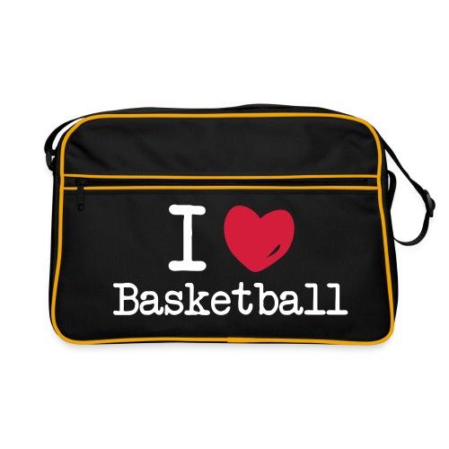 I <3 Basketball - Retro-tas
