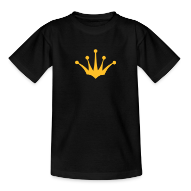 king or queen crown 4 1c Kids' Shirts