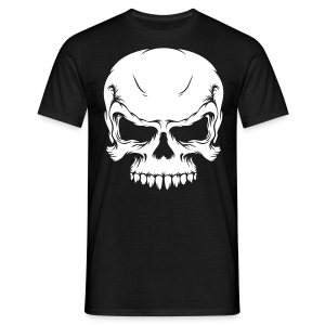 Skull Face - Men's T-Shirt
