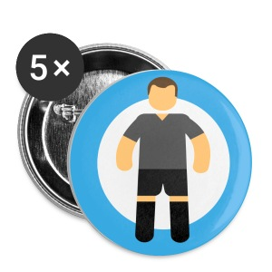 Soccer Player - Spilla media 32 mm