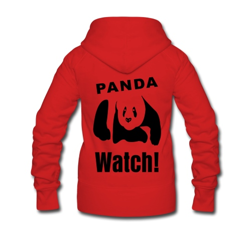 Panda Watch! - Women's Premium Hooded Jacket