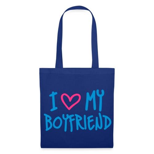 I LOVE MY BOYFRIEND - Tote Bag