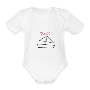 Romper boot - Baby bio-rompertje met korte mouwen