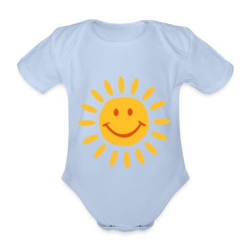 solesito - Body orgánico de maga corta para bebé