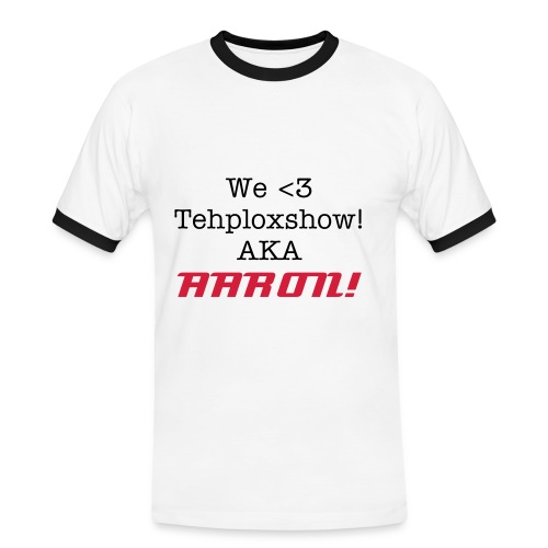 We Love tehploxshow - Men's Ringer Shirt