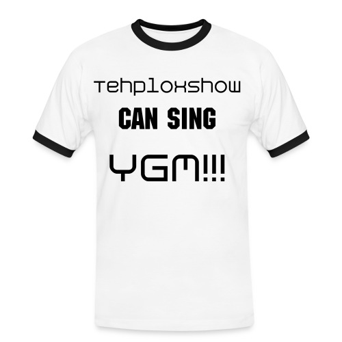 Tehploxshow Can Sing - Men's Ringer Shirt