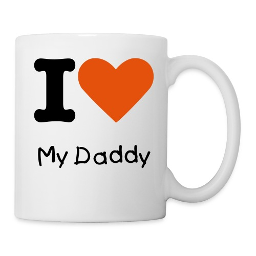 I love my Daddy mug - Mug
