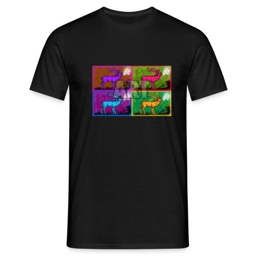 Hirsch-Warhol Paul Bangemann - Männer T-Shirt