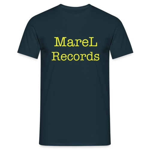 MareL Records T-Shirt  - Männer T-Shirt