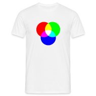 T-Shirts ~ Men's T-Shirt ~ RGB (White)