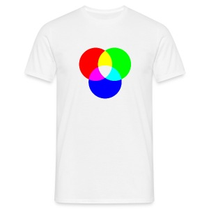 RGB (White) - Men's T-Shirt