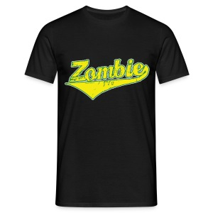 Zombie Baseball - Men's T-Shirt