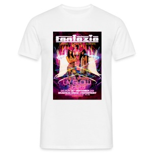 Fantazia UV Glow Show Event flyer t-shirt - Men's T-Shirt