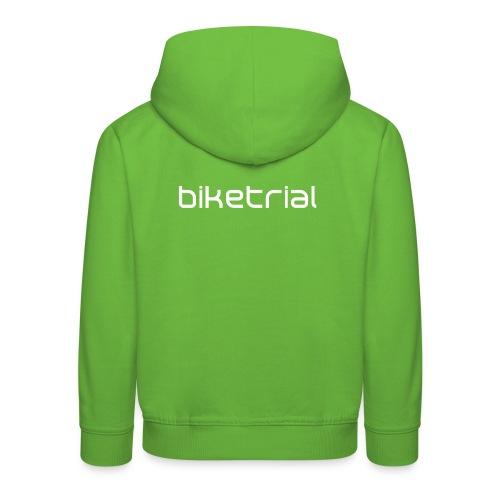 Felpa con cappuccio Premium per bambini - Biketrial,Trialmap